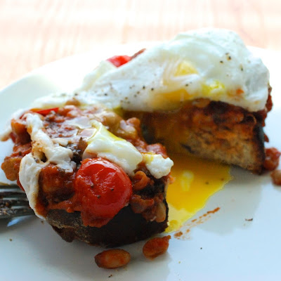 Spiced-Up Bean Toast