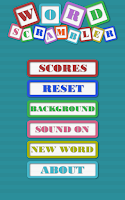 Screenshot of Word Scrambler Free