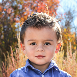 TK 2014 #1 by Stacey Cannon - Babies & Children Child Portraits ( fall, boys, cute, handsome, portrait )