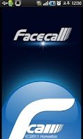 Screenshot of facecall