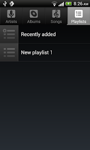 Default Music Player- screenshot thumbnail