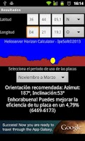 Screenshot of Helioserver Horizon Calculator