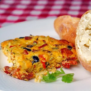 Bacon and Chorizo Frittata