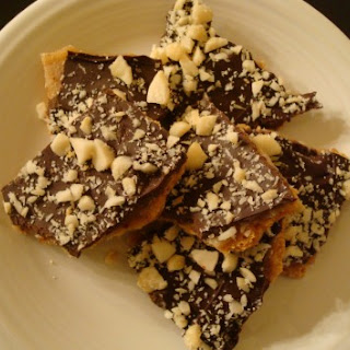Mock Chocolate Macadamia Toffee