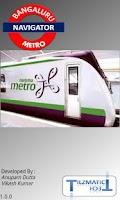 Screenshot of Bangalore Metro Navigator