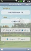 Screenshot of Diamond Golf