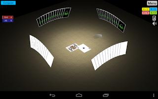 Screenshot of Spades 3D