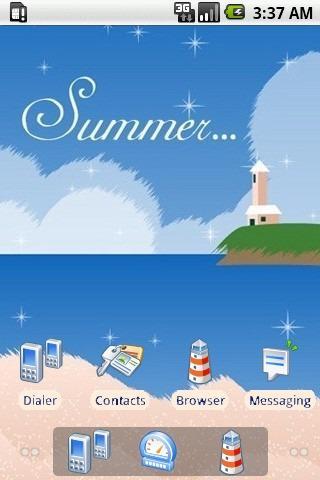 Peace Summer [SQTheme] ADW