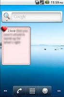 Screenshot of Daily Love