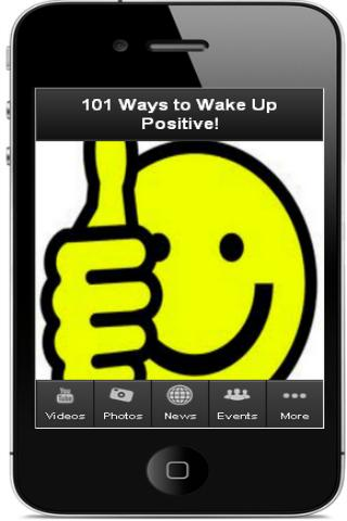 101 Ways to Wake Up Positive