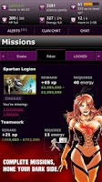 Screenshot of Villains RPG