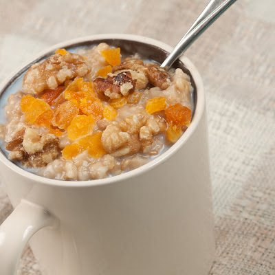 Slow-cooked Steel Cut Oats