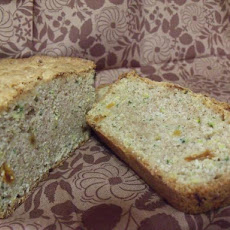 Zucchini Bread With Golden Raisins