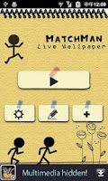 Screenshot of Matchman [Live Wallpaper]