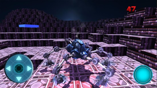 Moon Parking Spider Robot - screenshot