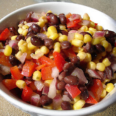 Black Bean and Corn Salad - Spicy Mexican Salad/Side Dish