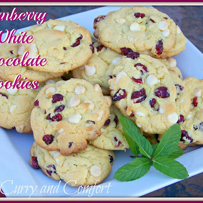 Cranberry and White Chocolate Cookies