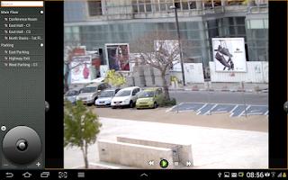 Screenshot of DVTEL Mobile