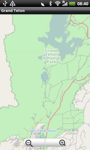 玩旅遊App|Grand Teton National Park Map免費|APP試玩