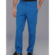 Nike Golf - Flat Front Tech Pant (Military Blue/Military Blue) - Apparel