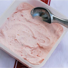 Roasted Strawberry Shortcake Ice Cream
