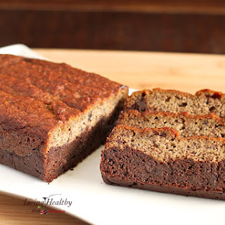 Black Bottom Banana Bread (paleo, gluten free, grain free, dairy free)