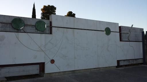 Mural de los Dólmenes de Antequera