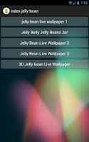 Screenshot of index jelly bean