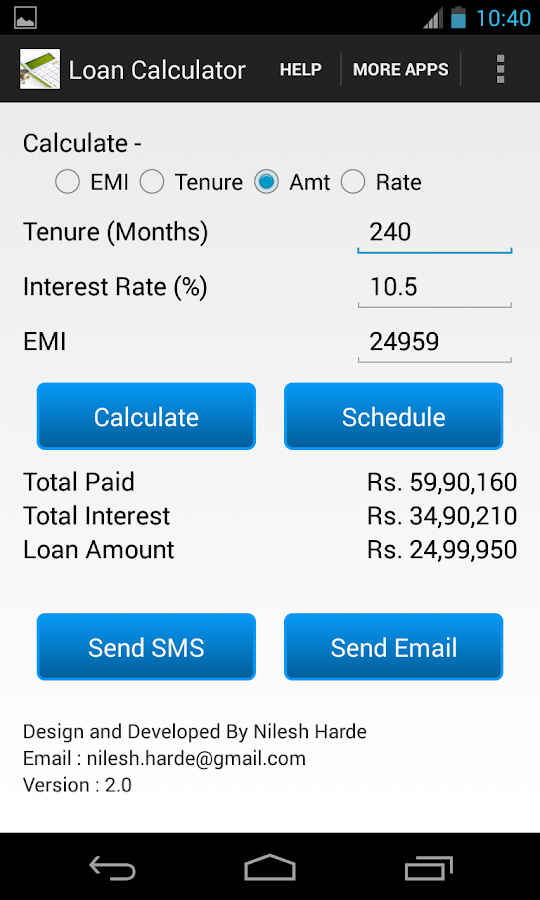 Sbi home loan calculator based on salary