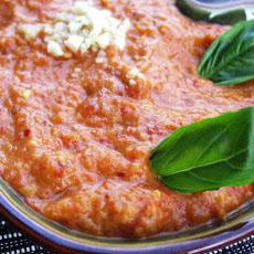 Ajvar (Roasted Red Pepper Spread)