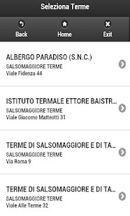 Cerca Terme - screenshot