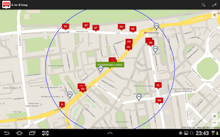 Screenshot of A-to-B Easy London Transport