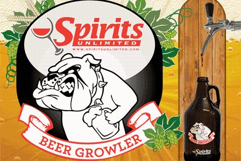 Spirits Unlimited Growler