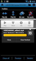 Screenshot of Video Toolbox editor (trial)