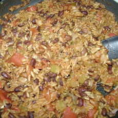 Quick Skillet Black Beans and Rice
