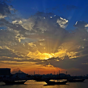 by Sanjiban Ghosh - Landscapes Sunsets & Sunrises (  )