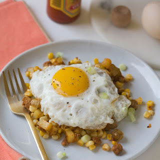Corn and Chorizo Hash