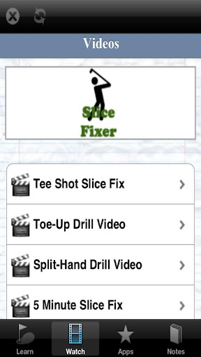 玩運動App|Slice Fixer - Fix a Golf Slice免費|APP試玩