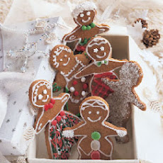 New England Molasses Gingerbread Cookies