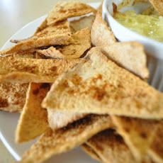 Spicy Whole Wheat Pita Chips