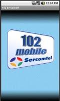 Screenshot of 102 Mobile Sercomtel