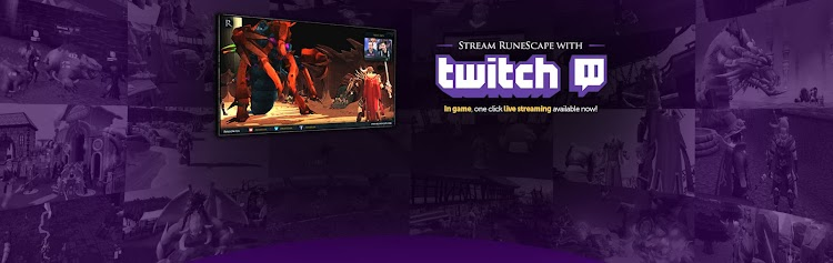 Twitch streaming support arrives for Runescape