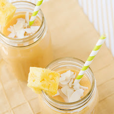 Almond Breeze Tropical Morning Smoothie