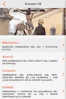 Screenshot of Guía Semana Santa Almería 2015