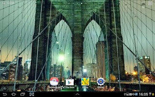 Screenshot of Rainy New York Live Wallpaper