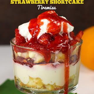 Strawberry Shortcake Tiramisu