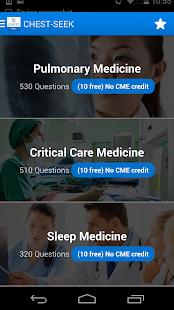 CHEST SEEK™ for Physicians screenshot for Android