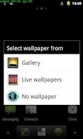 Screenshot of No Wallpaper