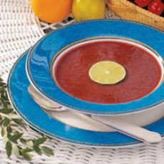 Tart Cherry Soup