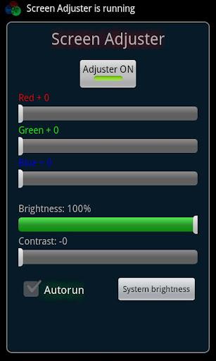 Screen Adjuster Free
